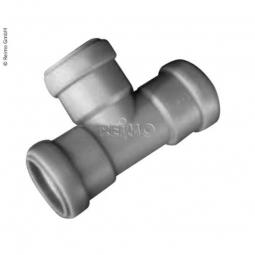 90° T-Stück für 28 mm Rohre